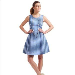 Vineyard Vines Cotton Linen Striped Dress